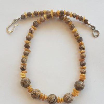 Picture jasper and amber